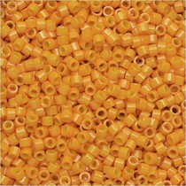 Oranje Miyuki Delica Dyed Opaque Squash 11/0 - 4gr