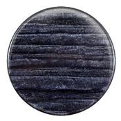Blauw Platte cabochon polaris Sparkle dust Indigo blue 35mm