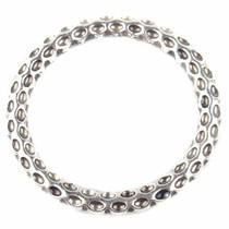 Zilver Ring gebutst Zilver 35mm