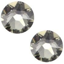 Grijs Swarovski flatback SS34 (7mm) Crystal Silver Shade