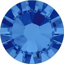 Blauw Swarovski flatback SS34 (7mm) Sapphire