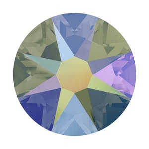 Paars Swarovski flatback SS34 (7mm) Crystal Paradise Shine