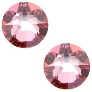 Roze Swarovski flatback SS34 (7mm) Crystal antique pink