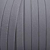 Grijs Plat nappa Leer Vintage grijs 5x1.5mm - prijs per cm