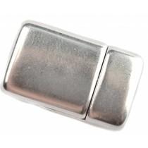 Zilver Magneetsluiting Ø10x2,5mm Zilver DQ