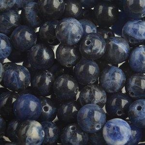 Blauw Edelsteen Sodaliet 8mm
