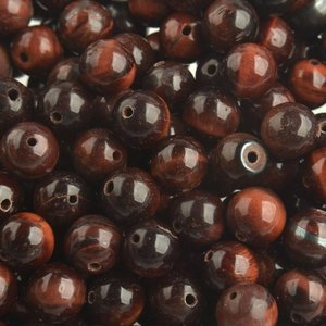 Rood Edelsteen Red Tiger Eye 8mm