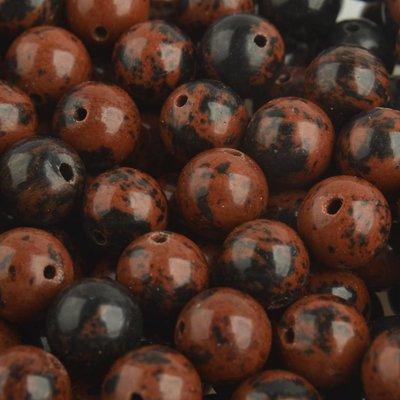 Bruin Edelsteen Mahogany Obsidian 8mm