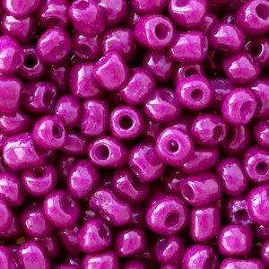 Paars Rocailles glas Violet purple opaque 6/0 (4mm) - 20 gram