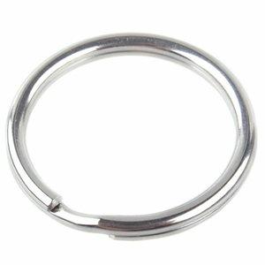 Rvs Dubbele ring RVS 12x1mm - 5 stuks