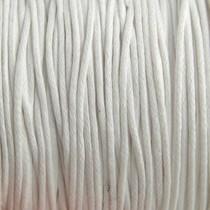 Wit Waxkoord wit 1mm - 10 meter