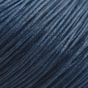 Blauw Waxkoord navy blue 1mm - 10 meter