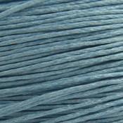 Blauw Waxkoord light blue 1mm - 10 meter