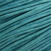 Blauw Waxkoord Light aqua 1mm - 10 meter