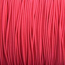 Roze Elastiek hot pink DQ 2mm - 1m