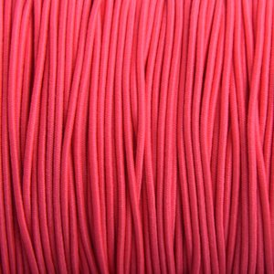 Roze Elastiek hot pink DQ 2mm - 1m