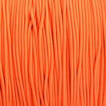 Oranje Elastiek fel oranje DQ 1mm - 3m