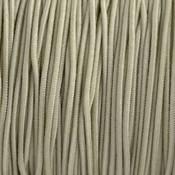 Bruin Elastiek beige grijs 1mm - 3m