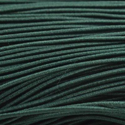 Groen Elastiek donker groen 1mm - 3 meter