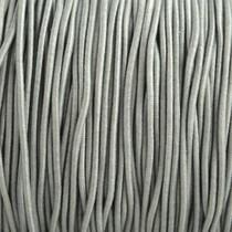 Grijs Elastiek licht grijs 1mm - 3 meter