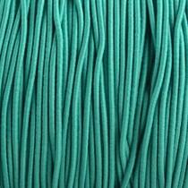 Turquoise Elastiek turquoise groen DQ 1mm - 3 meter