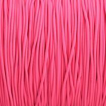 Roze Elastiek fel roze DQ 1mm - 3 meter