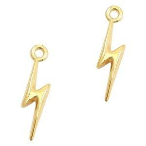 Goud Bedel lightning Goud DQ 19x5mm
