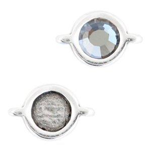 Zilver Setting voor SS20 Zilver DQ 12x7mm