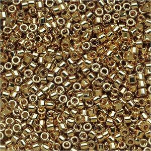 Goud Miyuki Delica Light 24K Gold Plated 11/0 - 4 gram