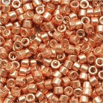 Rosegoud Miyuki Delica Galvanized Muscat Copper  11/0 - 4 gram