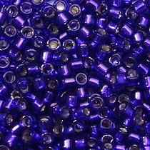 Paars Miyuki Delica Silver-Lined Royal Purple 11/0 - 4 gram