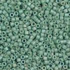 Groen Miyuki Delica Matte Opaque Glaze Rainbow Celadon 11/0 - 4 gram
