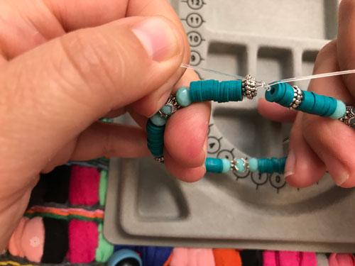 Bekend Basistechniek: elastisch nylon knopen – Kraaltjes van Renate @LU15