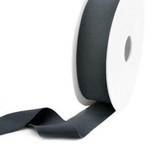 Grijs Elastisch Ibiza lint Anthracite grey 25mm - 1 meter