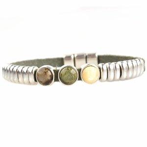 Groen DIY armband polaris #3  Olive Green