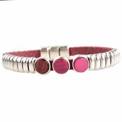 Rood DIY armband polaris #3  Cherry red