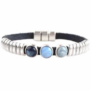 Blauw DIY armband polaris #3  Dark blue