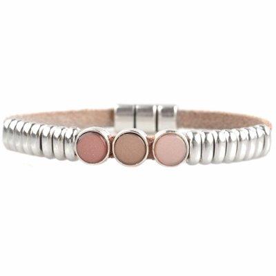 Roze DIY armband polaris #3  Nude pink