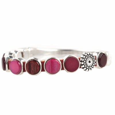 Rood DIY armband polaris #1 Cherry Red
