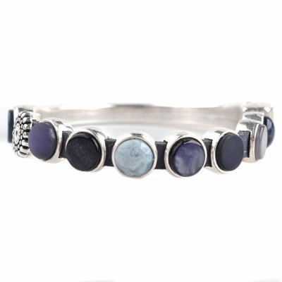 Blauw DIY armband polaris #1 Dark blue