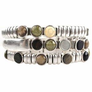 Groen DIY set armbanden polaris 3 stuks  Olive Green