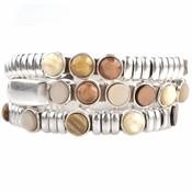 Bruin DIY set armbanden polaris 3 stuks   Natural Brown