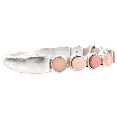 Roze DIY set armbanden polaris 3 stuks  Nude Pink
