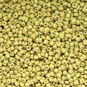 Groen Rocailles glas Olive green 12/0 (2mm) - 20 gram