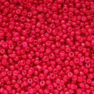 Rood Rocailles glas Magenta red 12/0 (2mm) - 20 gram