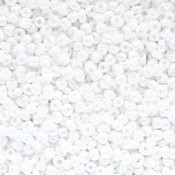 Wit Rocailles glas Sparkling white 12/0 (2mm) - 20 gram