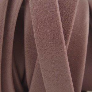 Paars Plat soft nappa leer grey purple 10x2,5mm - prijs per cm