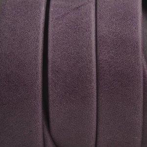 Paars Plat soft nappa leer purple 10x2,5mm - prijs per cm