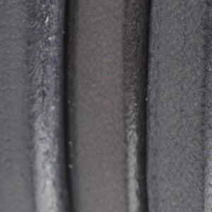 Grijs Ovaal leer 10x6mm Vintage grijs - 20cm