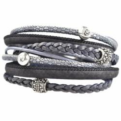 Swarovski & Velvet armbanden